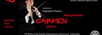 Magdalena Pawlisz conducts CARMEN | Kharkiv Opera
